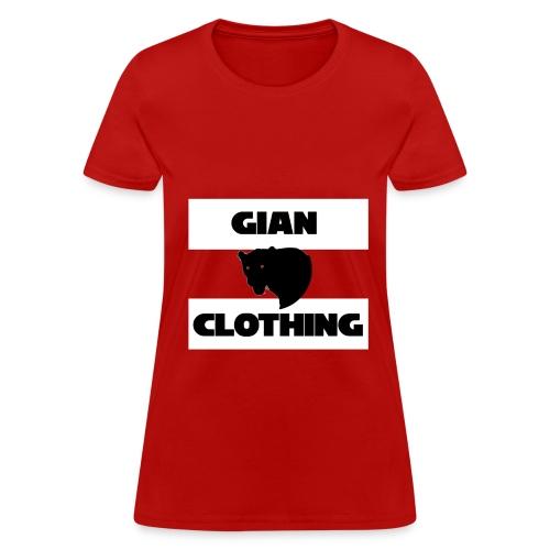 Short Sleeved T-Shirt with Logo Tre - Women's T-Shirt
