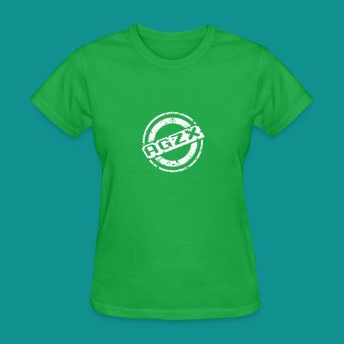Women Bright Green/White - Women's T-Shirt