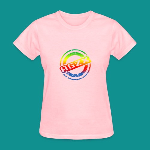 Women Pink/Rainbow - Women's T-Shirt