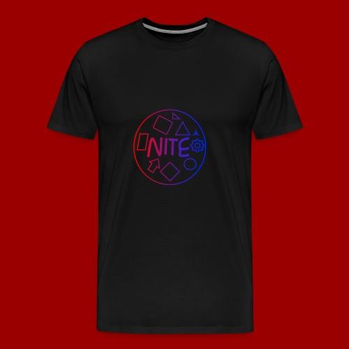 Mens NiteDasher Creative Circle T-Shirt - Men's Premium T-Shirt