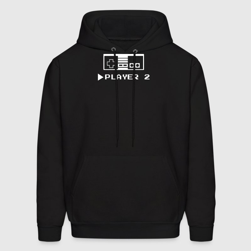 Player 1 or 2 - Men's Hoodie