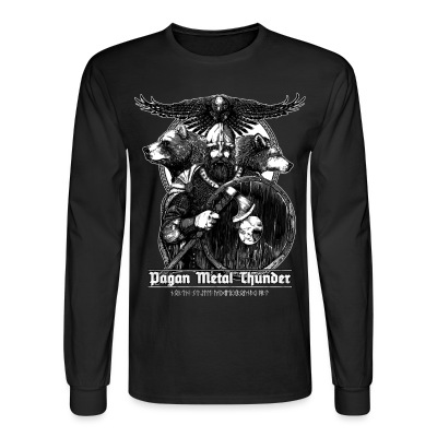 Pagan Metal Thunder - Men's Long Sleeve T-Shirt