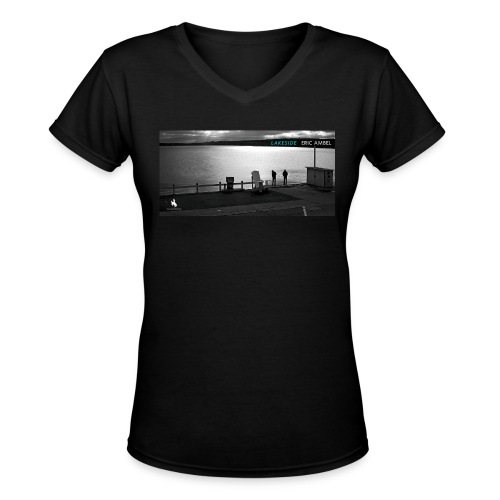 Womens Eric Ambel Lakeside T-Shirt - Women's V-Neck T-Shirt