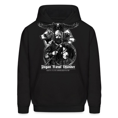 Pagan Metal Thunder - Men's Hoodie
