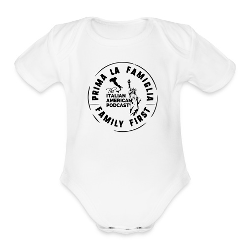 Baby Short Sleeve One Piece by LAT - Organic Short Sleeve Baby Bodysuit
