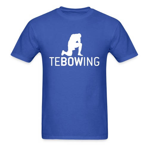 Classic Tebowing - Men's T-Shirt