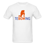 T-Shirts ~ Men's T-Shirt ~ Tebowing White