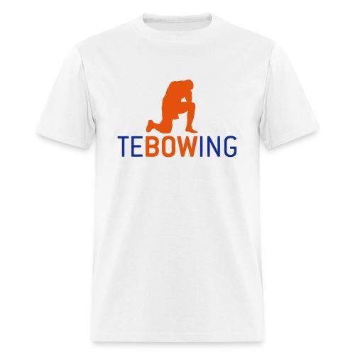 Tebowing White - Men's T-Shirt