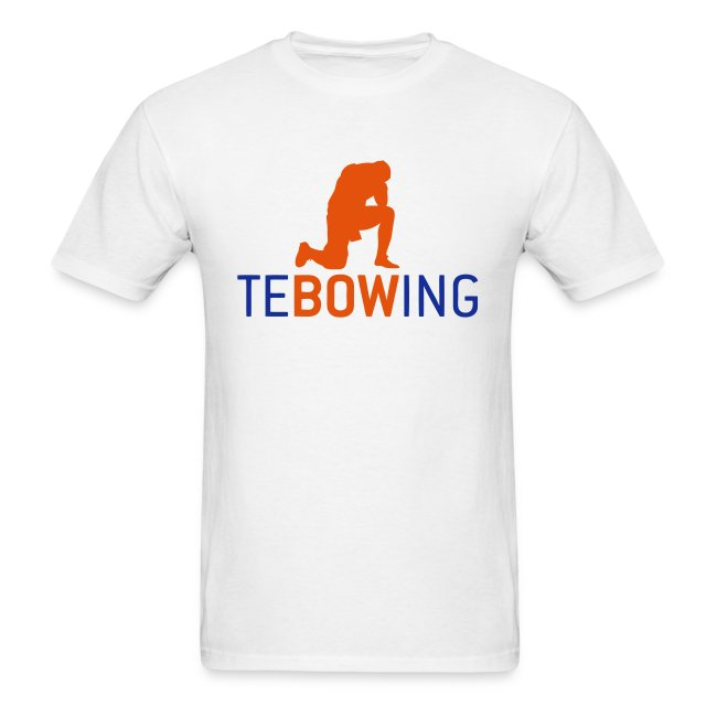 Tebowing White