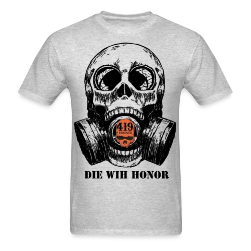 Die with Honor support shirt - Men's T-Shirt