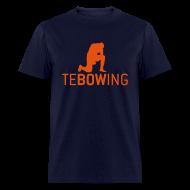 T-Shirts ~ Men's T-Shirt ~ Navy Classic Tebowing Shirt