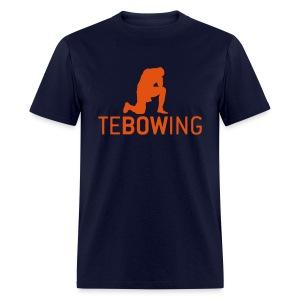 Navy Classic Tebowing Shirt - Men's T-Shirt