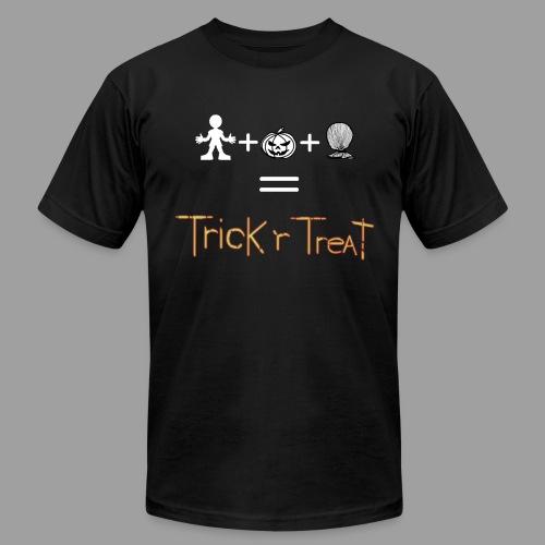 TrickRTreat Men Black Shirt By American Apparel - Men's  Jersey T-Shirt