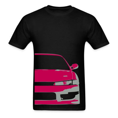 S14 Silvia - Pink/Grey - Men's T-Shirt