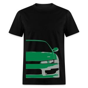 S14 Silvia - Green/grey - Men's T-Shirt