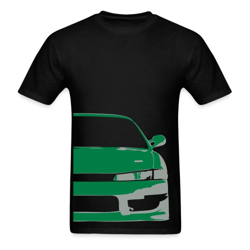 S14 Silvia - Green/grey - Men's T-Shirt