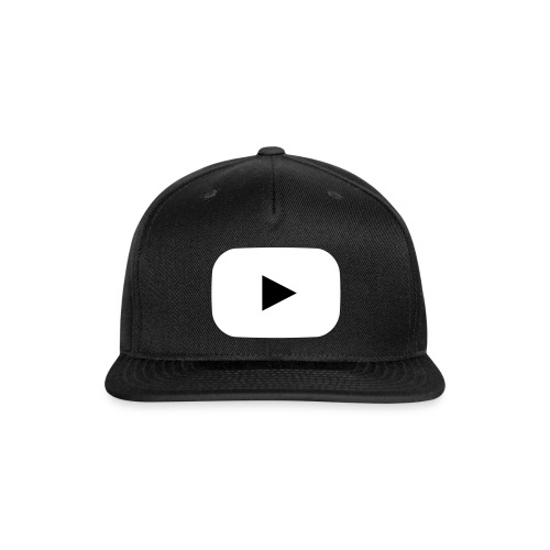 Press Play Snapback - Snap-back Baseball Cap