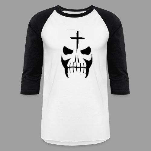 Otis Men White-Black Baseball Shirt - Baseball T-Shirt