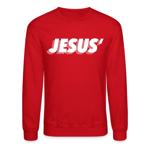 Jesus' Crewneck - Crewneck Sweatshirt