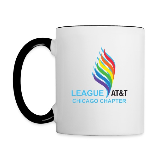 Cup Right Handed Blue - Contrast Coffee Mug