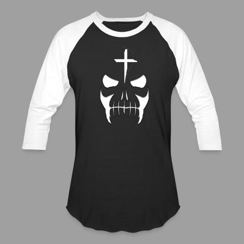 Otis Men Black-White Baseball Shirt - Baseball T-Shirt
