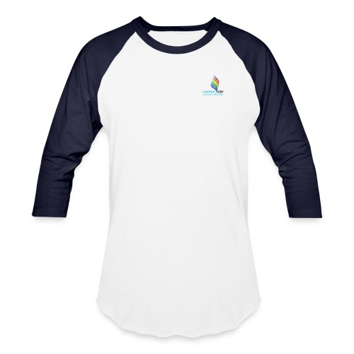 T-Shirt White Small Two Color - Baseball T-Shirt