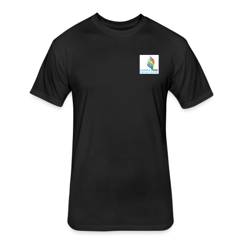 T-Shirt Black Small Fitted - Next Level - Fitted Cotton/Poly T-Shirt by Next Level
