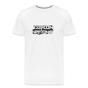 Defcon Nations T-Shirt - Men's Premium T-Shirt
