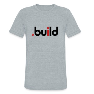 .build one world (W) - Unisex Tri-Blend T-Shirt by American Apparel