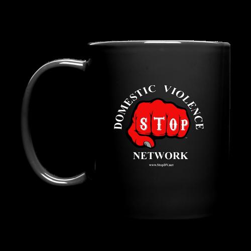 Coffee Mug Stop Domestic Violence Network™ - Full Color Mug