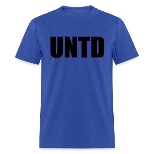 UNTD Black Logo Men's Tee - Men's T-Shirt