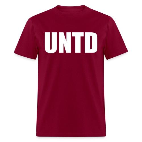 UNTD White Logo Men's Tee - Men's T-Shirt