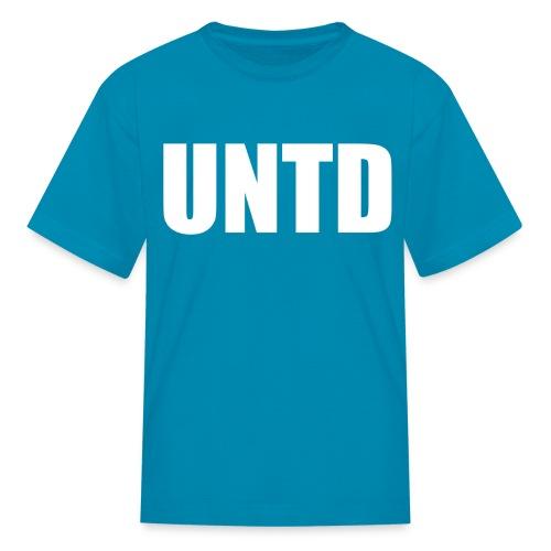 UNTD White Logo Kid's Tee - Kids' T-Shirt