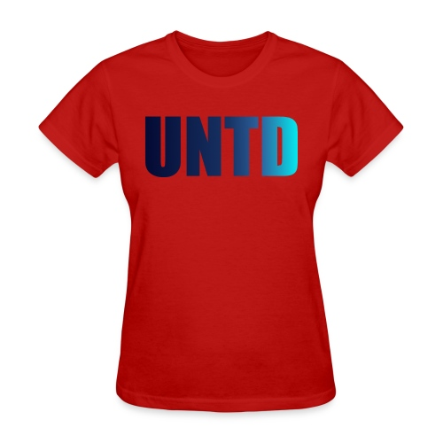 UNTD Blue Logo Women's Tee - Women's T-Shirt