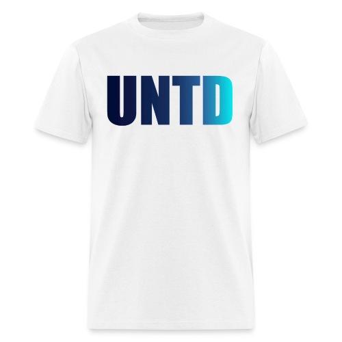 UNTD Blue Logo Men's Tee - Men's T-Shirt