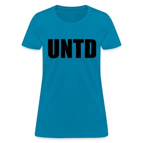 UNTD Black Logo Women's Tee - Women's T-Shirt