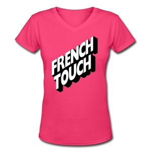 French Touch - Women's V-Neck T-Shirt