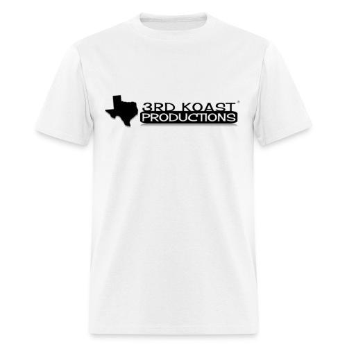Men's White 3KP T-Shirt - Men's T-Shirt