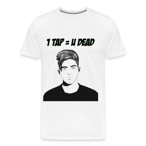 812 : white - Men's Premium T-Shirt