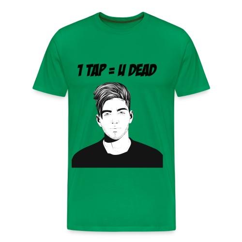 812 : kelly green - Men's Premium T-Shirt