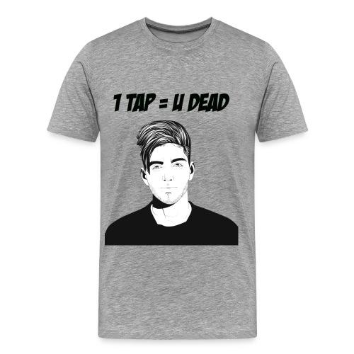812 : heather gray - Men's Premium T-Shirt