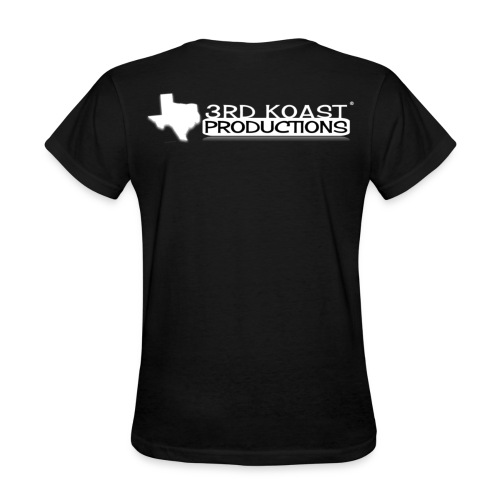 Women's Black DLTK T-Shirt - Women's T-Shirt