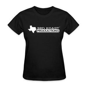 Women's Black 3KP T-Shirt - Women's T-Shirt