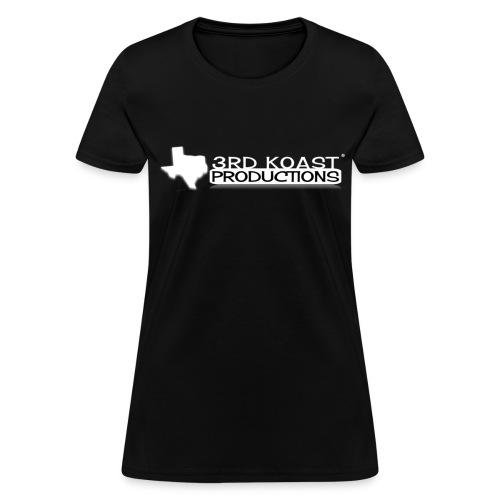 Women's Black 3KP T-Shirt - Women's T-Shirt
