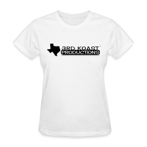 Women's White 3KP T-Shirt - Women's T-Shirt