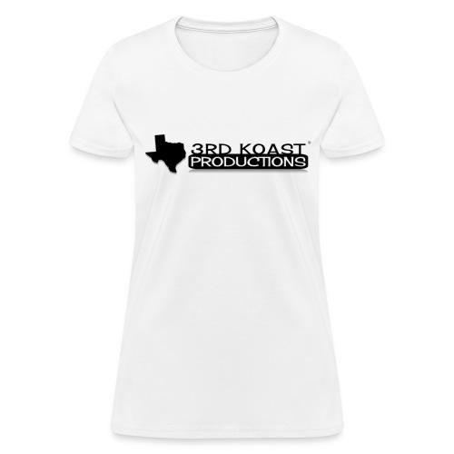 Women's White 3KP T-Shirt - Women's T-Shirt