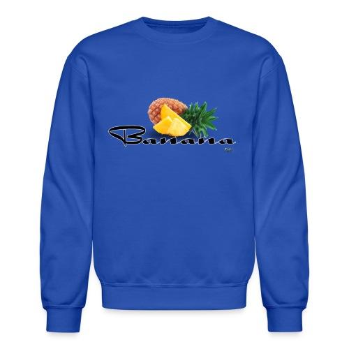 Mixed Fruit Banana - Sweatshirt - Crewneck Sweatshirt