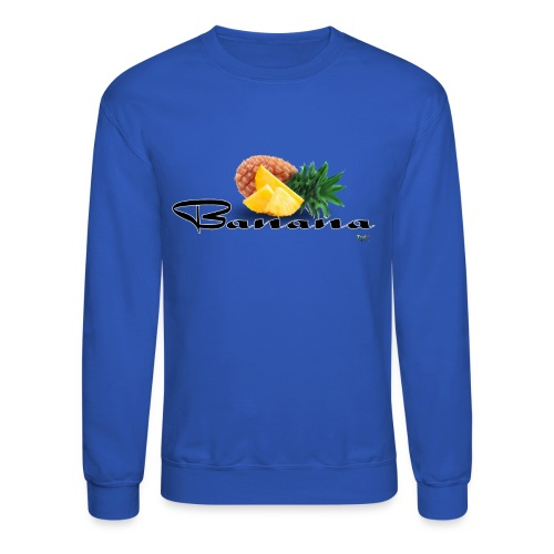 Mixed Fruit Banana - Sweatshirt - Crewneck Sweatshirt
