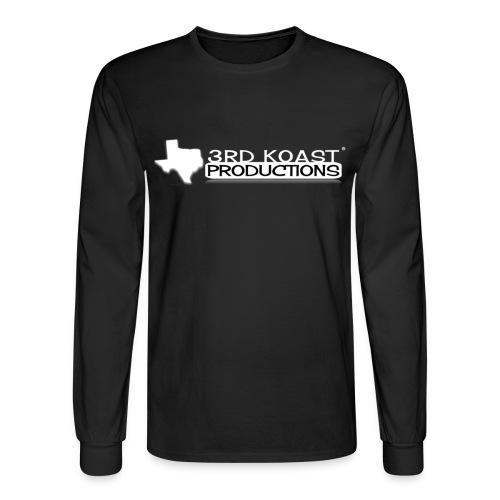 Men's Black 3KP Long Sleeve - Men's Long Sleeve T-Shirt