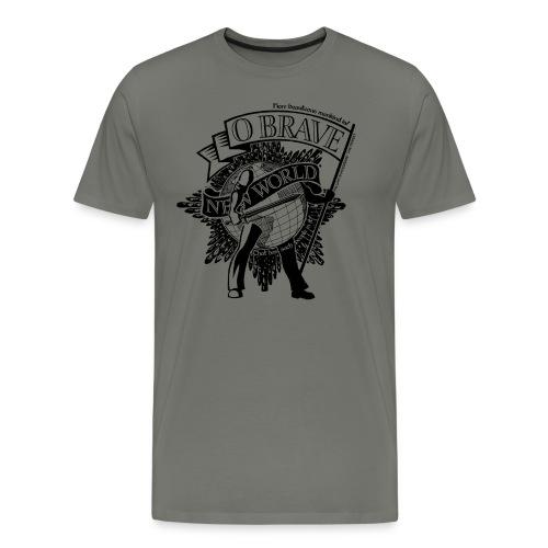 Brave New World - Men's Premium T-Shirt